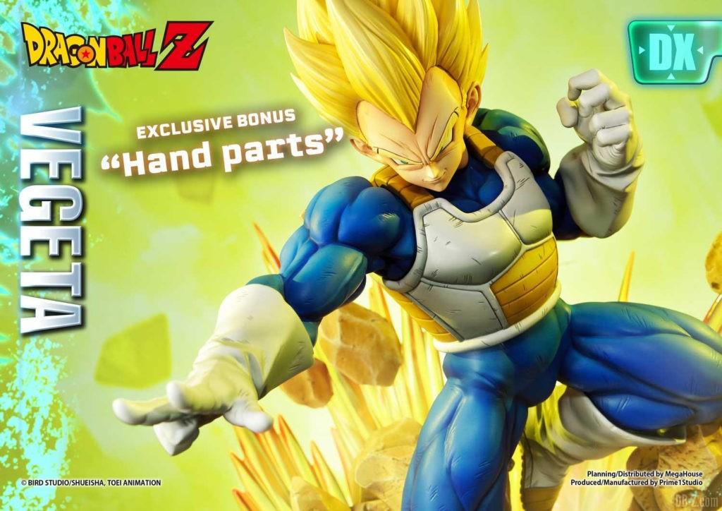 Statue Mega Premium Masterline Dragon Ball Z Super Saiyan Vegeta DX 106