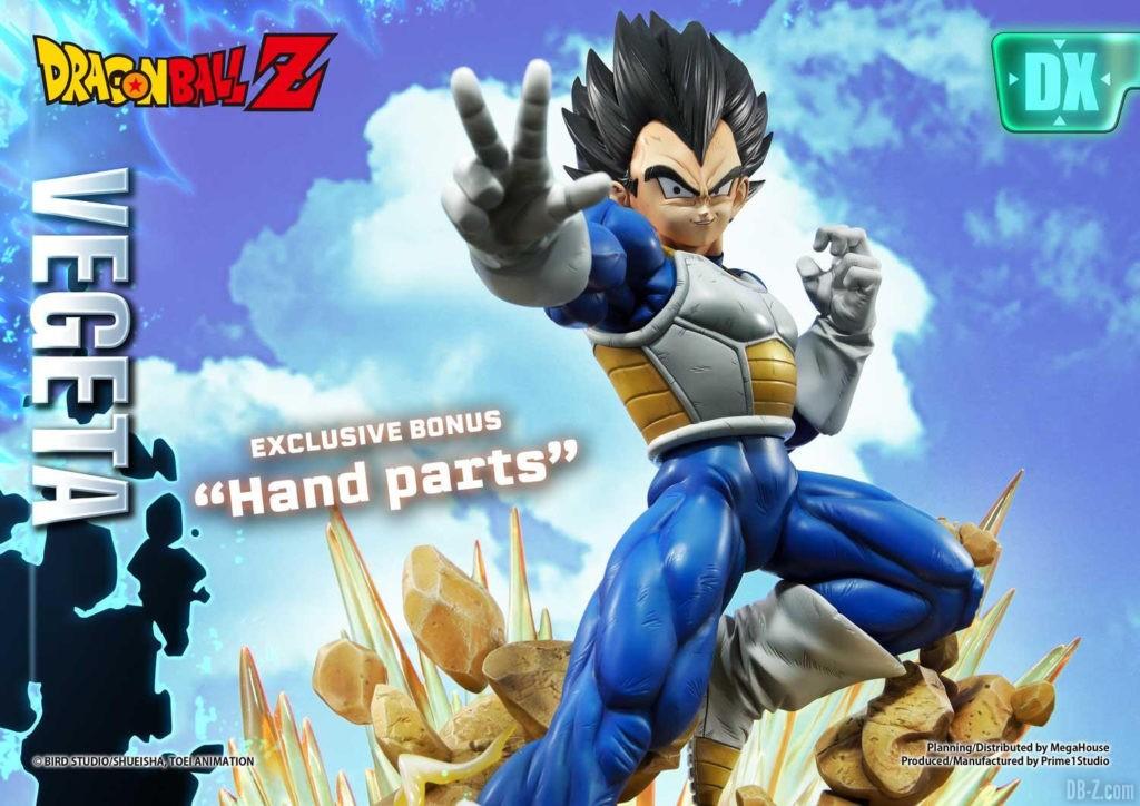 Statue Mega Premium Masterline Dragon Ball Z Super Saiyan Vegeta DX 107