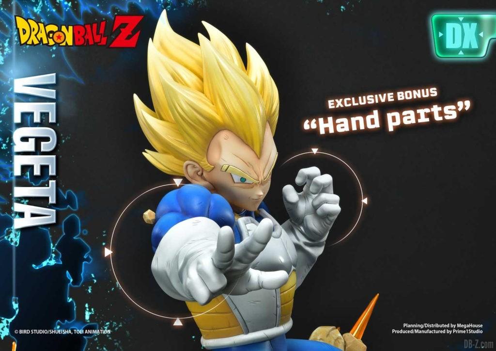 Statue Mega Premium Masterline Dragon Ball Z Super Saiyan Vegeta DX 108