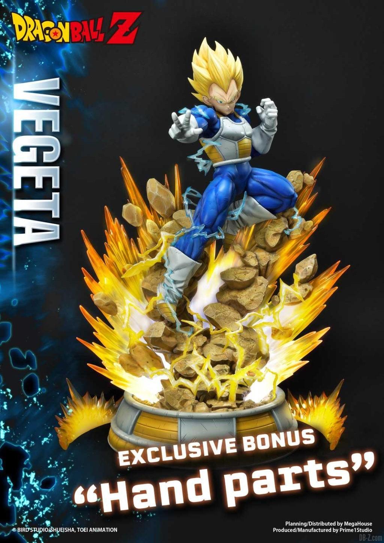 Statue Mega Premium Masterline Dragon Ball Z Super Saiyan Vegeta DX 109