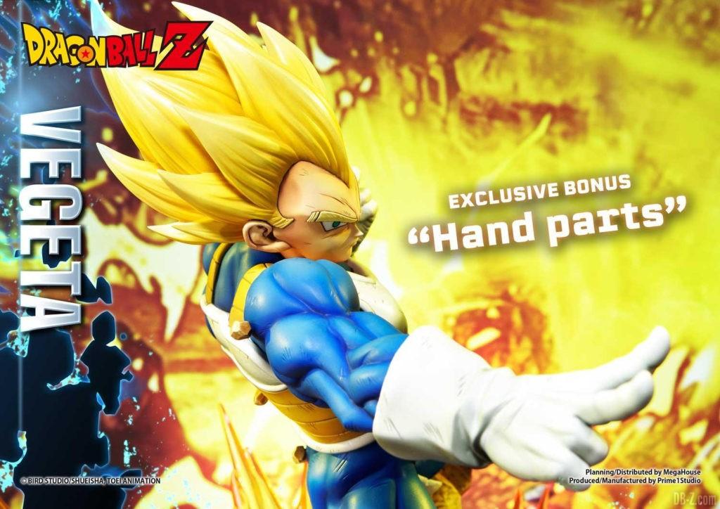Statue Mega Premium Masterline Dragon Ball Z Super Saiyan Vegeta DX 110