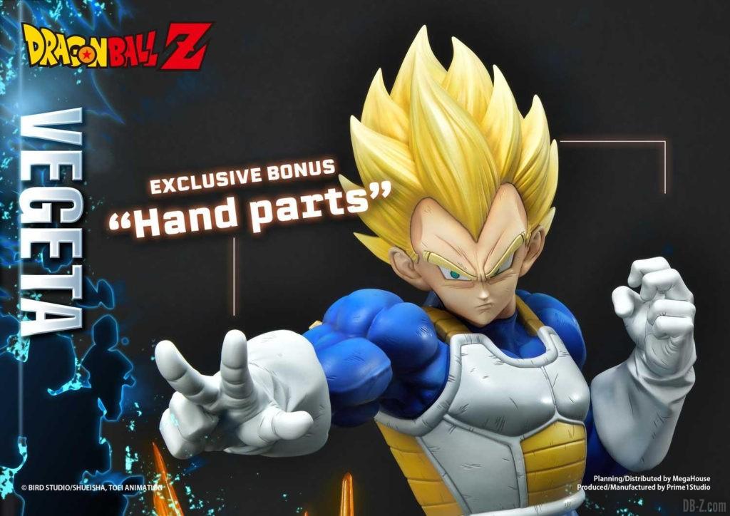 Statue Mega Premium Masterline Dragon Ball Z Super Saiyan Vegeta DX 111