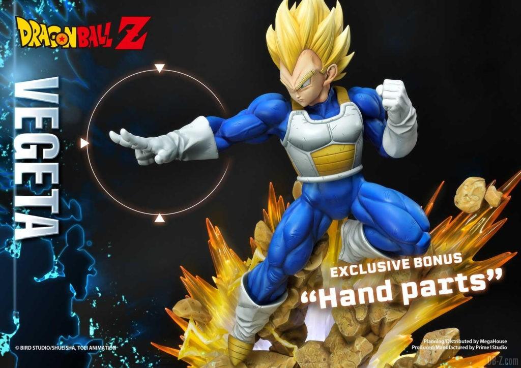 Statue Mega Premium Masterline Dragon Ball Z Super Saiyan Vegeta DX 116
