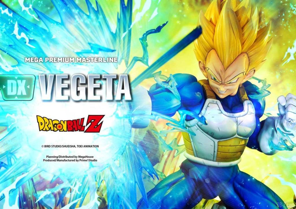 Statue Mega Premium Masterline Dragon Ball Z Super Saiyan Vegeta DX 12