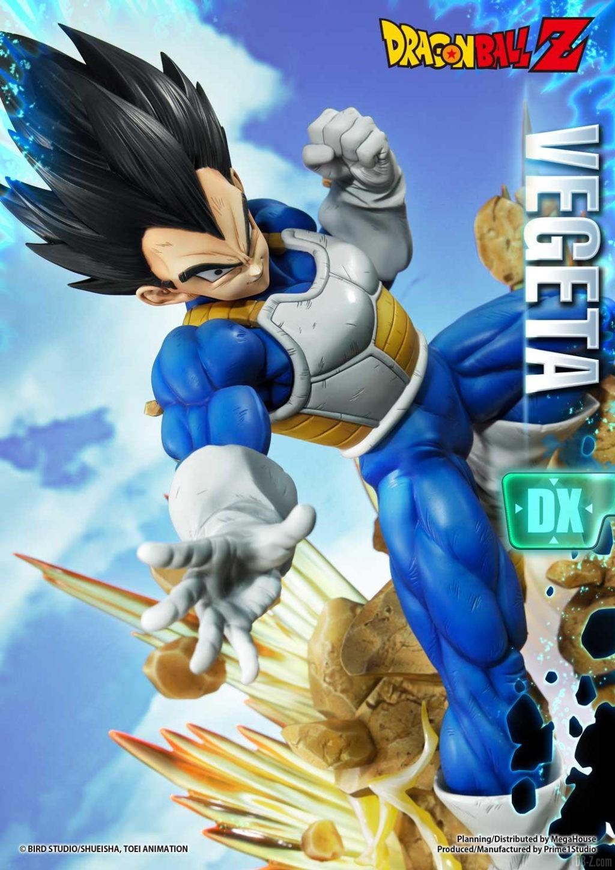 Statue Mega Premium Masterline Dragon Ball Z Super Saiyan Vegeta DX 14