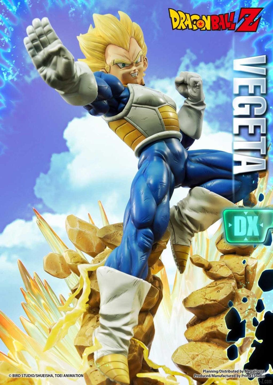 Statue Mega Premium Masterline Dragon Ball Z Super Saiyan Vegeta DX 15