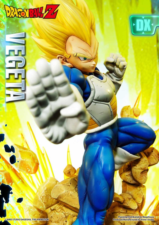 Statue Mega Premium Masterline Dragon Ball Z Super Saiyan Vegeta DX 17