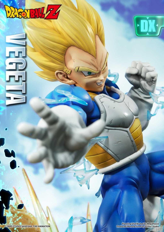 Statue Mega Premium Masterline Dragon Ball Z Super Saiyan Vegeta DX 18