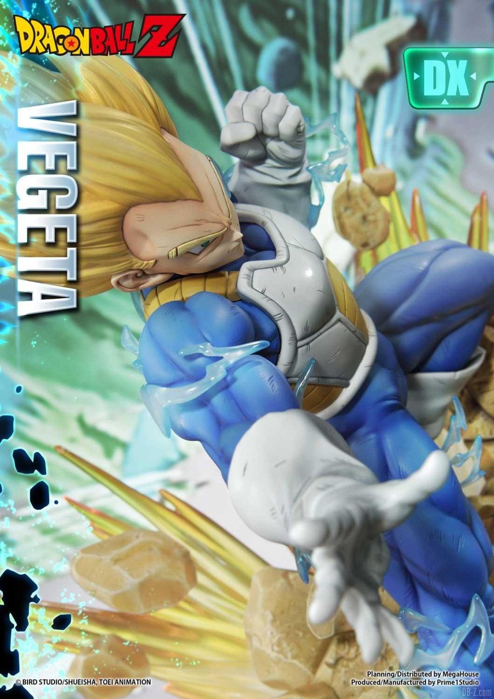 Statue Mega Premium Masterline Dragon Ball Z Super Saiyan Vegeta DX 19