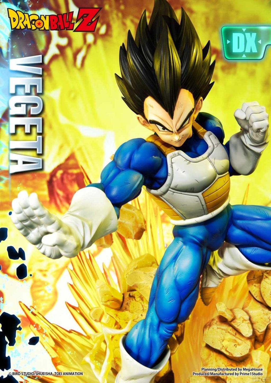 Statue Mega Premium Masterline Dragon Ball Z Super Saiyan Vegeta DX 20
