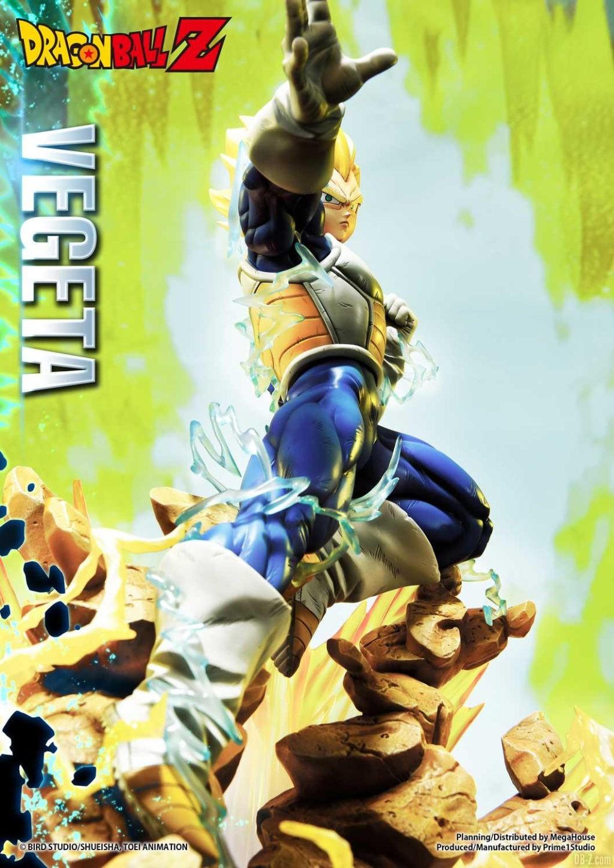 Statue Mega Premium Masterline Dragon Ball Z Super Saiyan Vegeta DX 26