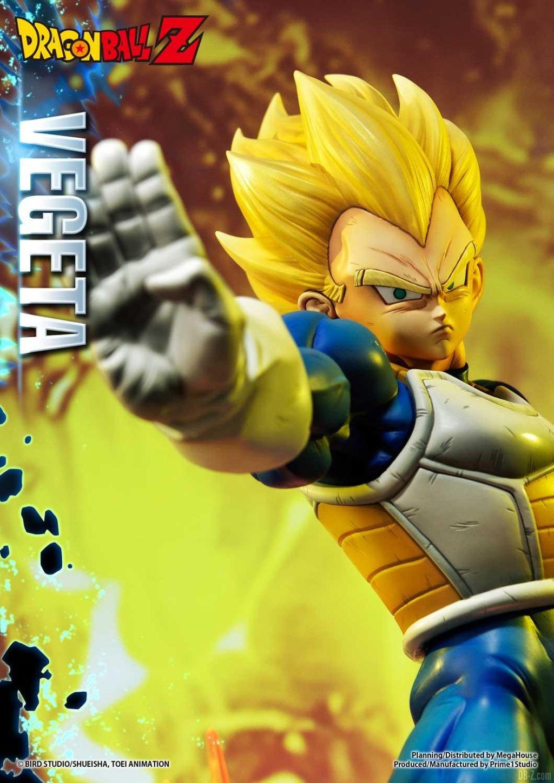 Statue Mega Premium Masterline Dragon Ball Z Super Saiyan Vegeta DX 27