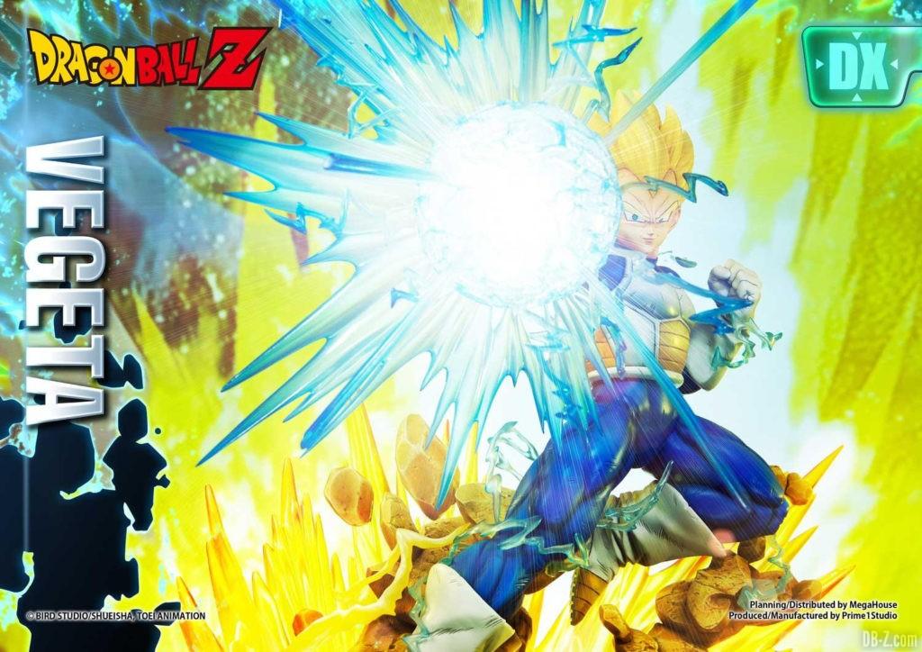 Statue Mega Premium Masterline Dragon Ball Z Super Saiyan Vegeta DX 29
