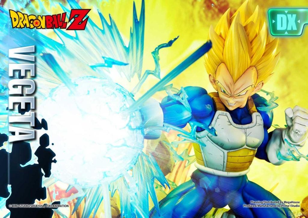 Statue Mega Premium Masterline Dragon Ball Z Super Saiyan Vegeta DX 30