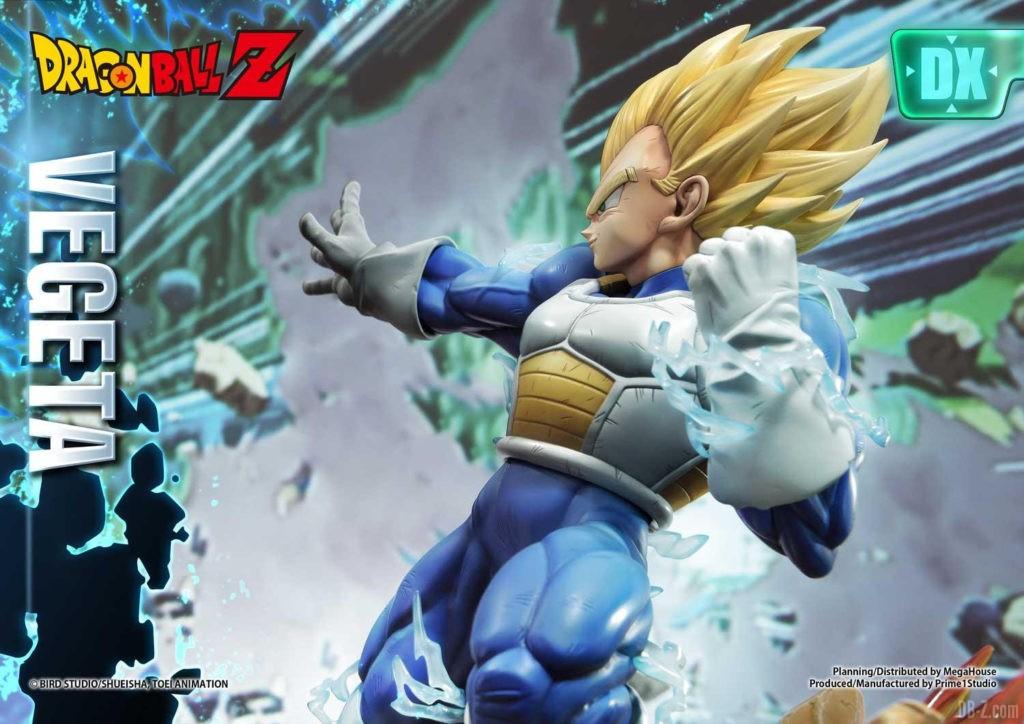 Statue Mega Premium Masterline Dragon Ball Z Super Saiyan Vegeta DX 31