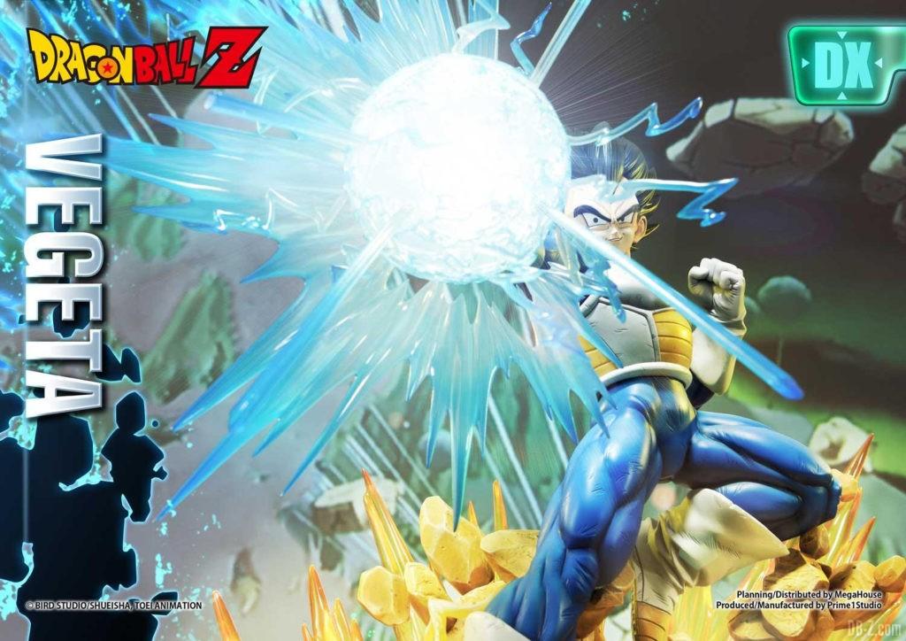 Statue Mega Premium Masterline Dragon Ball Z Super Saiyan Vegeta DX 32
