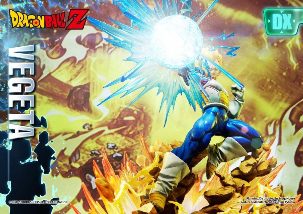 Statue Mega Premium Masterline Dragon Ball Z Super Saiyan Vegeta DX 33