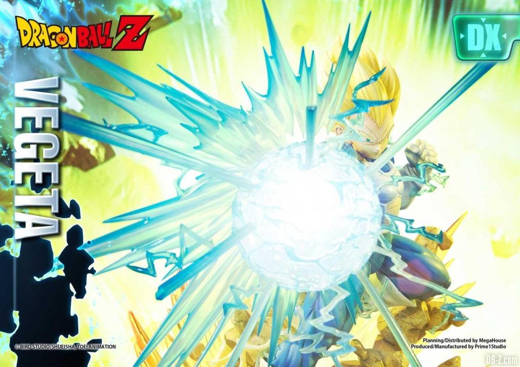 Statue Mega Premium Masterline Dragon Ball Z Super Saiyan Vegeta DX 34