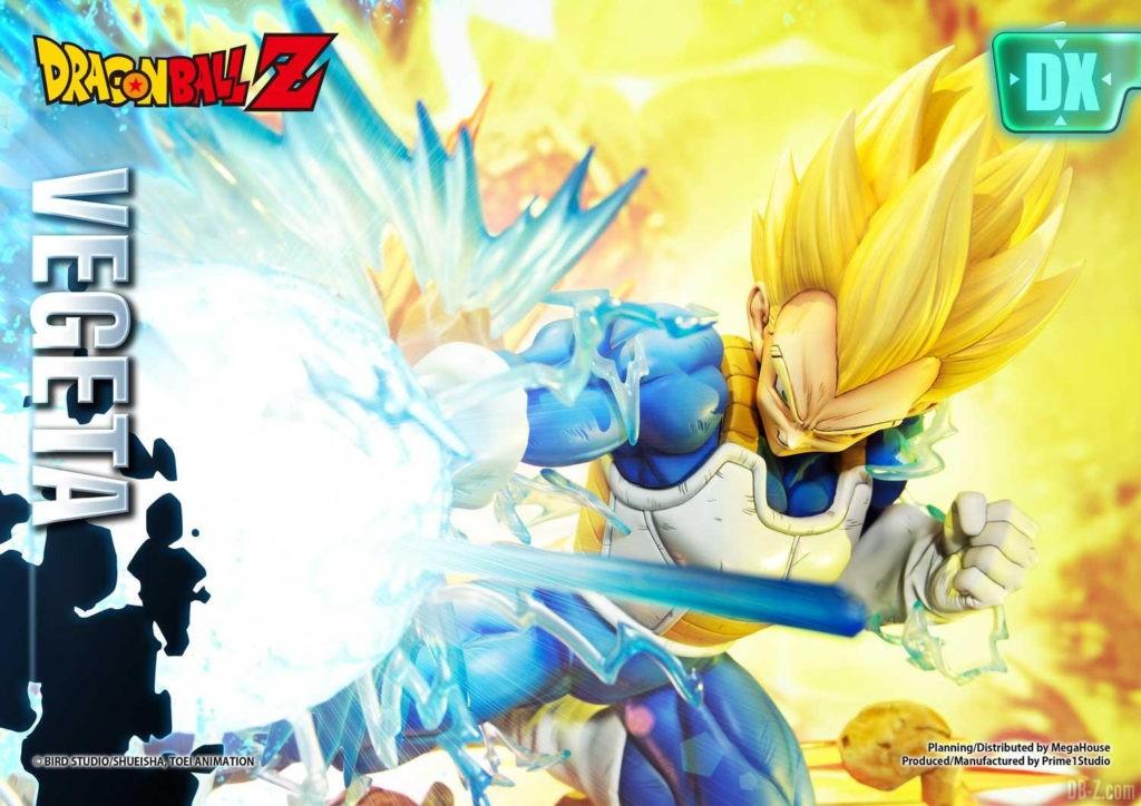 Statue Mega Premium Masterline Dragon Ball Z Super Saiyan Vegeta DX 35
