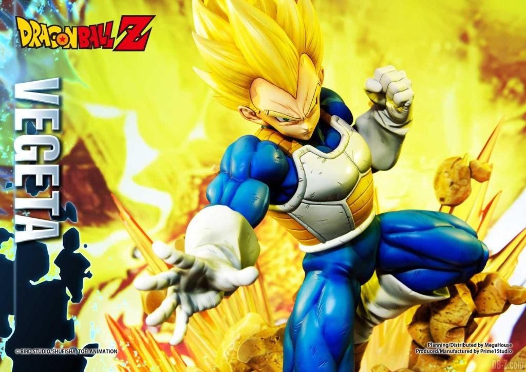 Statue Mega Premium Masterline Dragon Ball Z Super Saiyan Vegeta DX 36