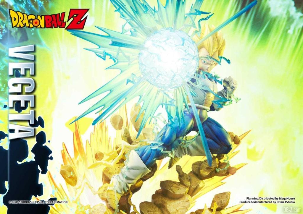 Statue Mega Premium Masterline Dragon Ball Z Super Saiyan Vegeta DX 37
