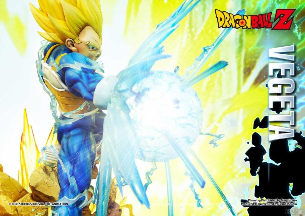 Statue Mega Premium Masterline Dragon Ball Z Super Saiyan Vegeta DX 38