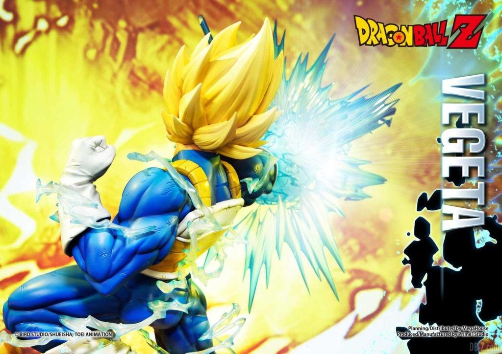 Statue Mega Premium Masterline Dragon Ball Z Super Saiyan Vegeta DX 39
