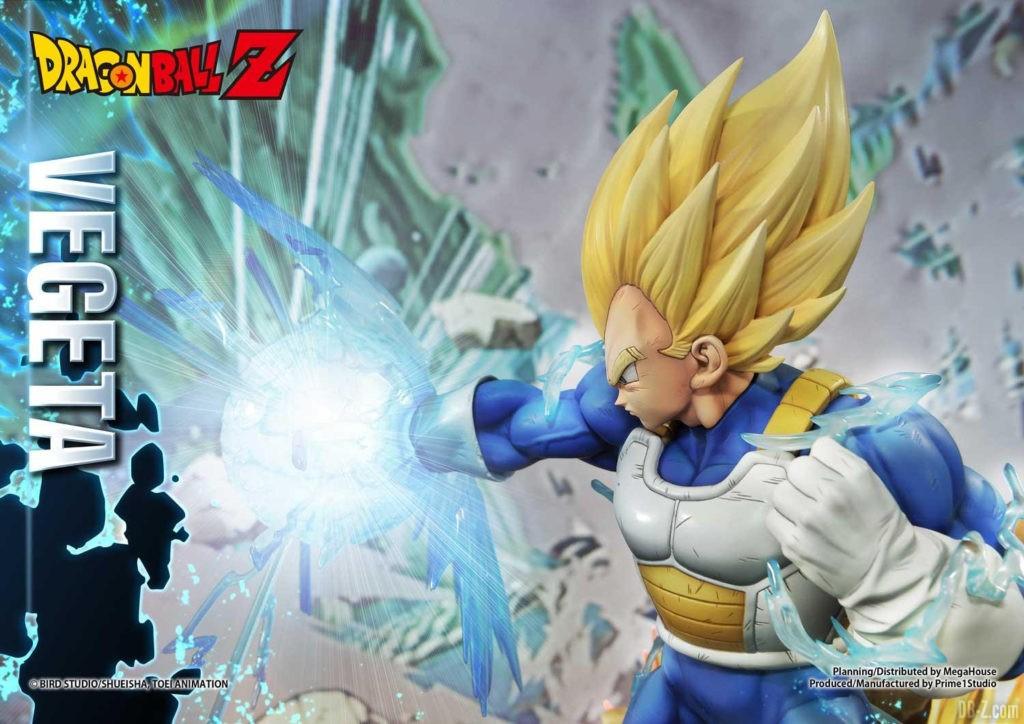 Statue Mega Premium Masterline Dragon Ball Z Super Saiyan Vegeta DX 40