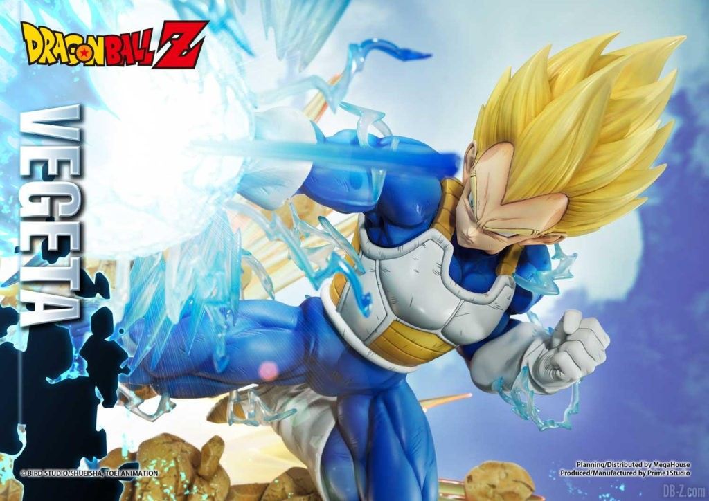 Statue Mega Premium Masterline Dragon Ball Z Super Saiyan Vegeta DX 42