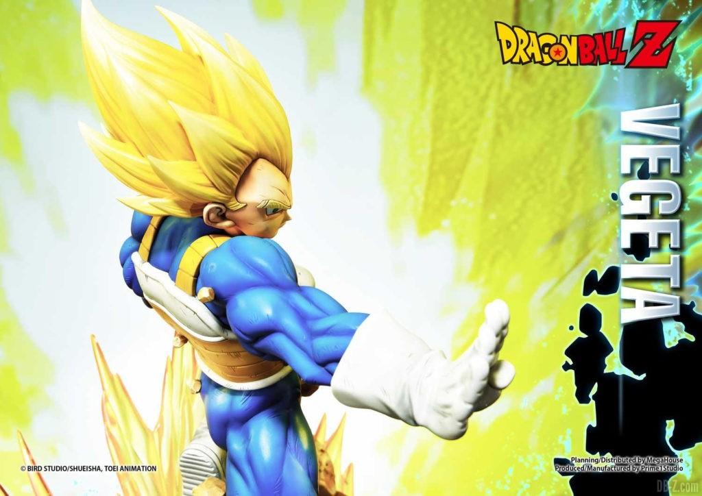 Statue Mega Premium Masterline Dragon Ball Z Super Saiyan Vegeta DX 44
