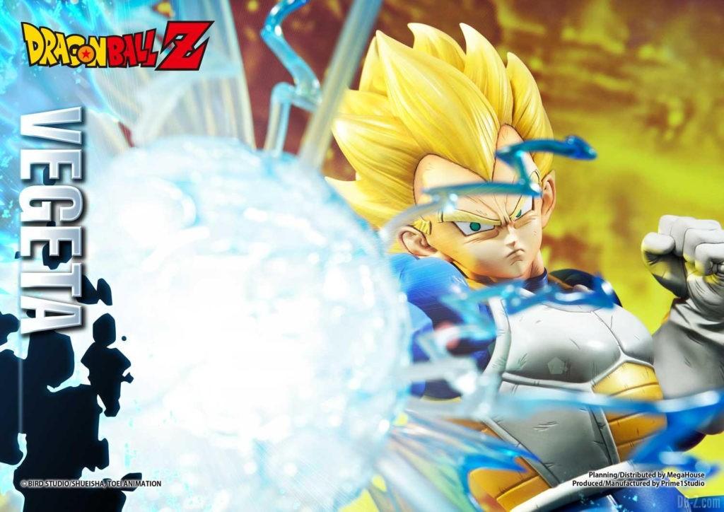 Statue Mega Premium Masterline Dragon Ball Z Super Saiyan Vegeta DX 45
