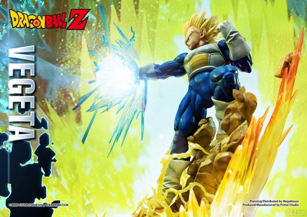 Statue Mega Premium Masterline Dragon Ball Z Super Saiyan Vegeta DX 46