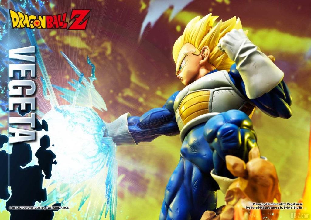 Statue Mega Premium Masterline Dragon Ball Z Super Saiyan Vegeta DX 47