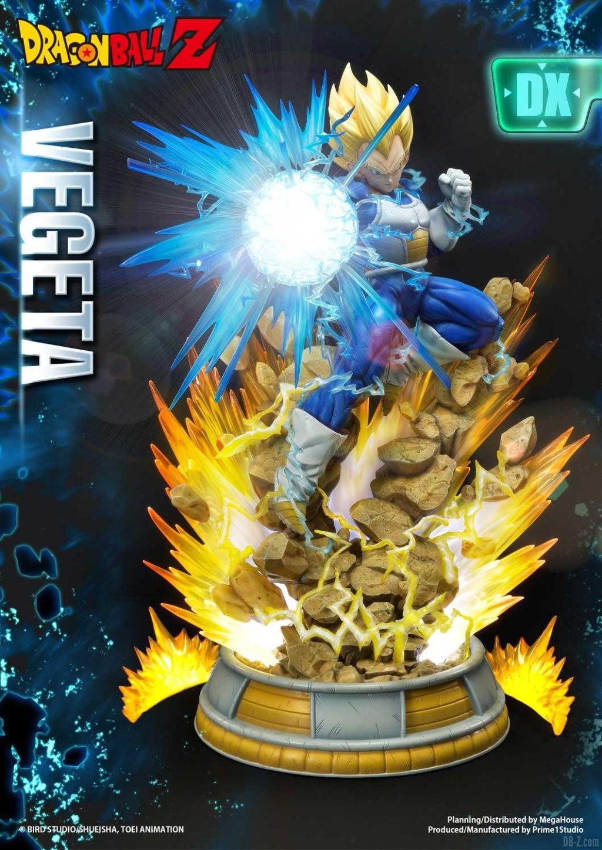 Statue Mega Premium Masterline Dragon Ball Z Super Saiyan Vegeta DX 48