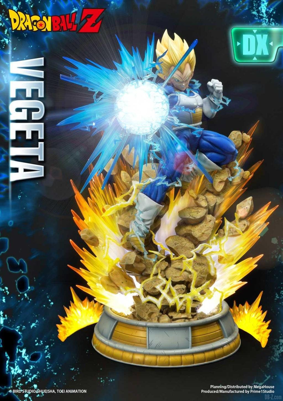 Statue Mega Premium Masterline Dragon Ball Z Super Saiyan Vegeta DX 49