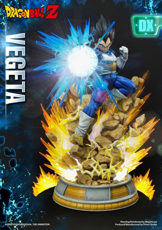 Statue Mega Premium Masterline Dragon Ball Z Super Saiyan Vegeta DX 50