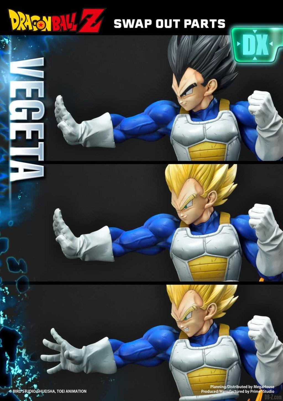 Statue Mega Premium Masterline Dragon Ball Z Super Saiyan Vegeta DX 51
