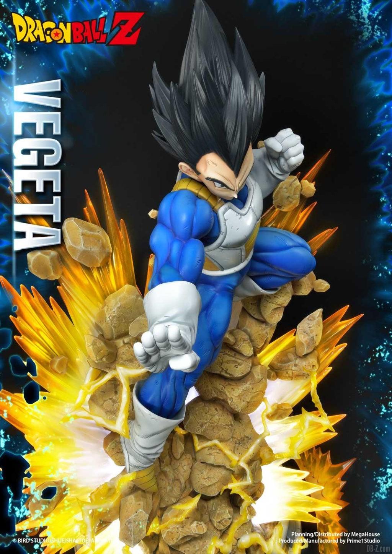 Statue Mega Premium Masterline Dragon Ball Z Super Saiyan Vegeta DX 52