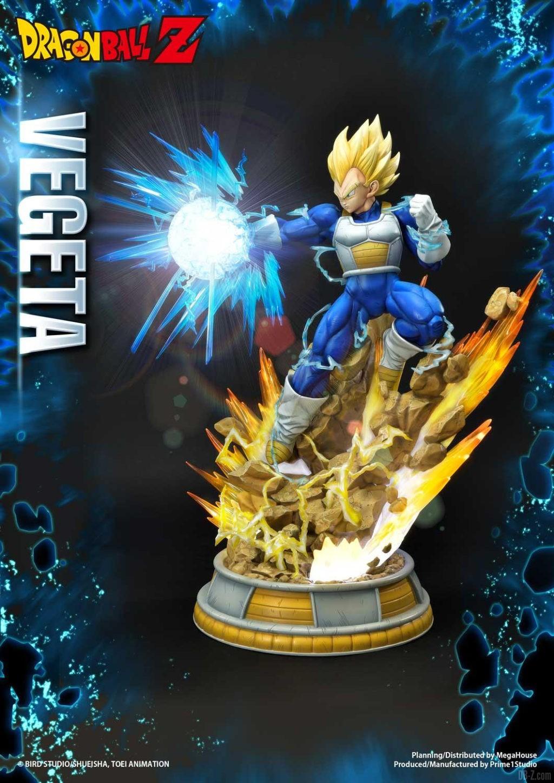 Statue Mega Premium Masterline Dragon Ball Z Super Saiyan Vegeta DX 55