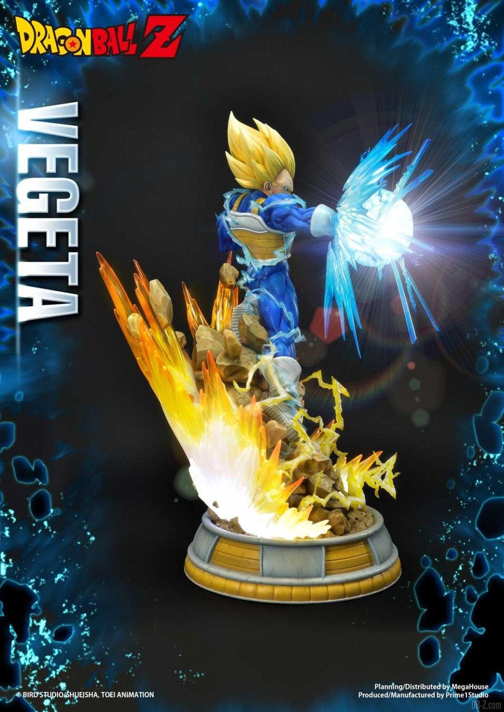 Statue Mega Premium Masterline Dragon Ball Z Super Saiyan Vegeta DX 56