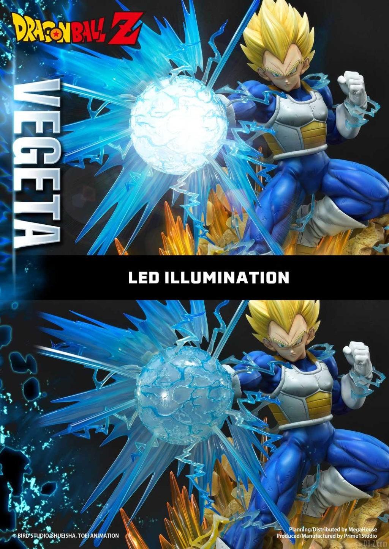Statue Mega Premium Masterline Dragon Ball Z Super Saiyan Vegeta DX 60
