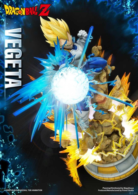 Statue Mega Premium Masterline Dragon Ball Z Super Saiyan Vegeta DX 66