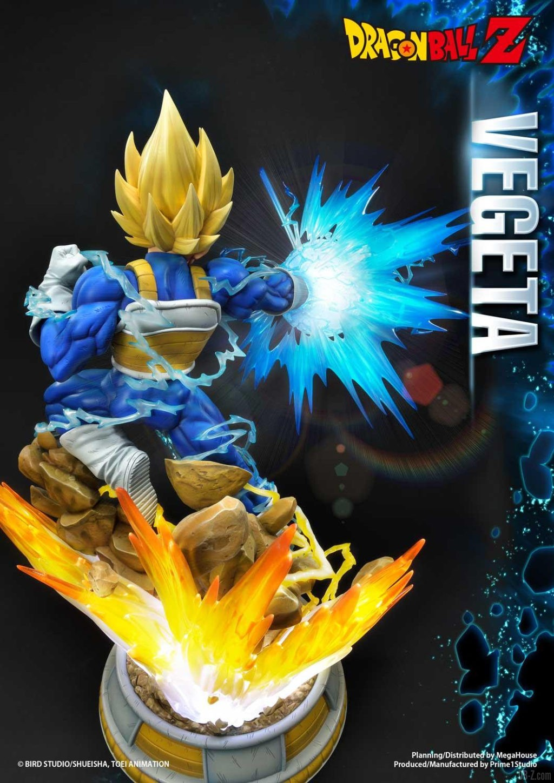 Statue Mega Premium Masterline Dragon Ball Z Super Saiyan Vegeta DX 68