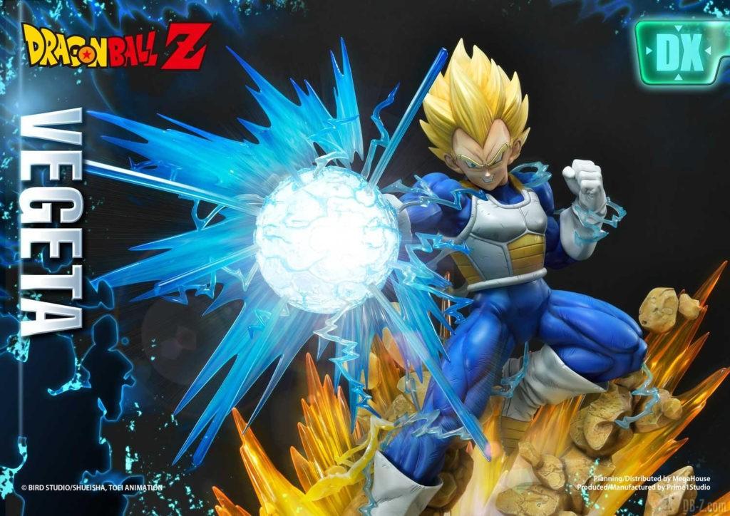 Statue Mega Premium Masterline Dragon Ball Z Super Saiyan Vegeta DX 70