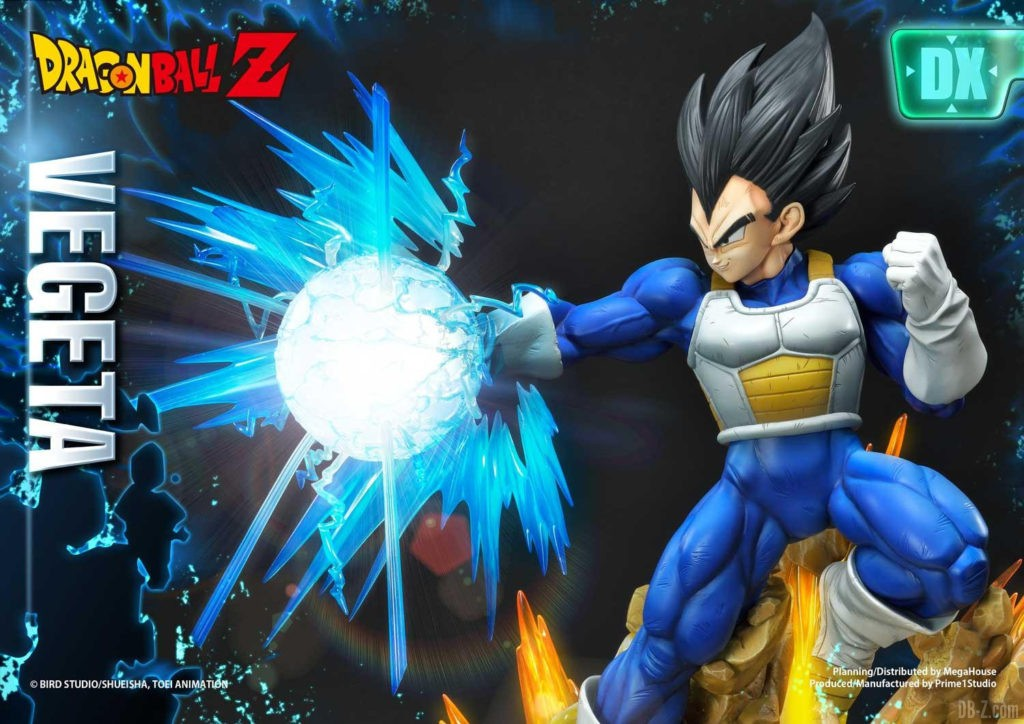 Statue Mega Premium Masterline Dragon Ball Z Super Saiyan Vegeta DX 71