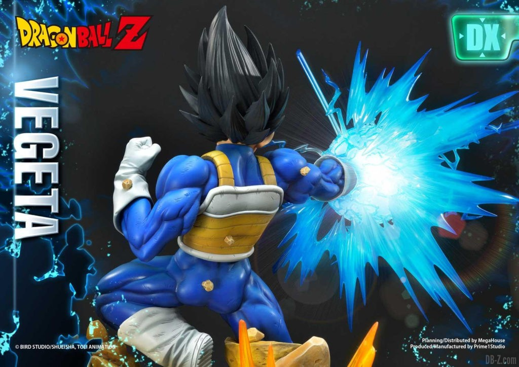 Statue Mega Premium Masterline Dragon Ball Z Super Saiyan Vegeta DX 73