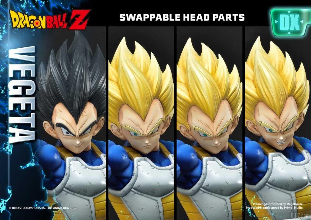 Statue Mega Premium Masterline Dragon Ball Z Super Saiyan Vegeta DX 74