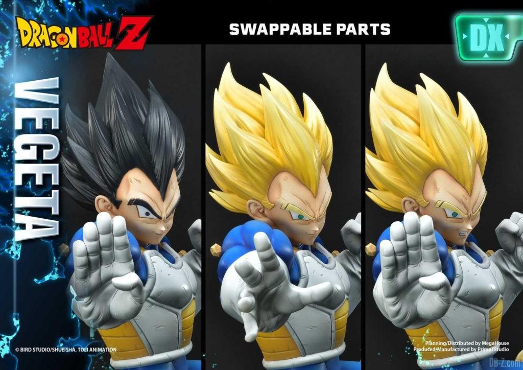 Statue Mega Premium Masterline Dragon Ball Z Super Saiyan Vegeta DX 75