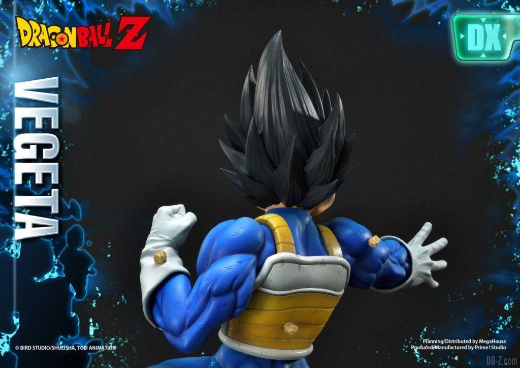 Statue Mega Premium Masterline Dragon Ball Z Super Saiyan Vegeta DX 76