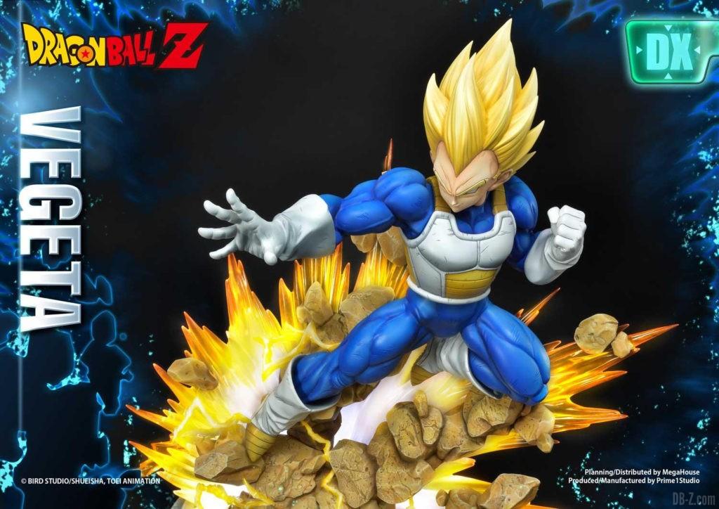 Statue Mega Premium Masterline Dragon Ball Z Super Saiyan Vegeta DX 77